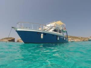 boat for diving malta