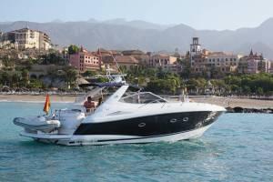hire a sunseeker boat in malta sunseeker 46
