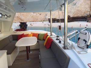 chartering catamaran malta lagoon 440