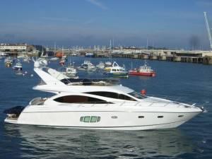 malta boat sunseeker 70 chartering