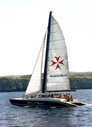 Party boat catamaran