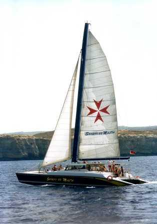 Party boat catamaran