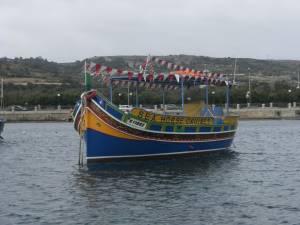 Luzzu party boat chartering malta