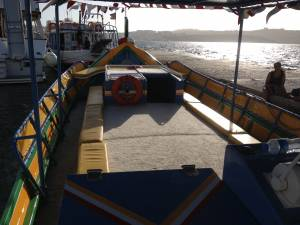 party boat chartering malta Luzzu