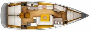 sailing charters in malta Beneteau 54