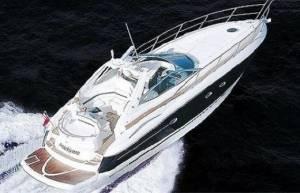 hire a motor boat in malta sunseeker 46