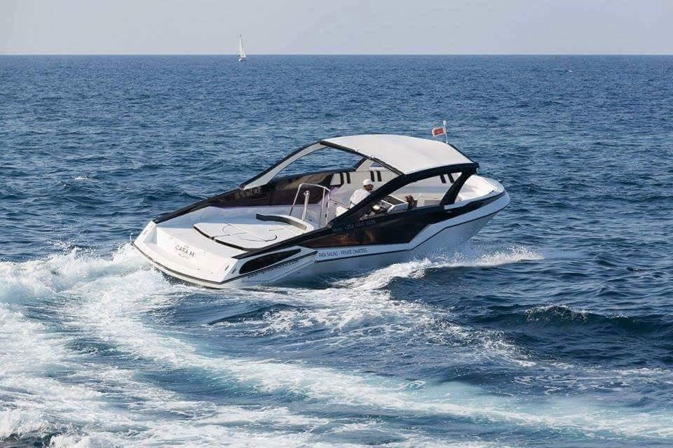 Custom powerboat Para 36