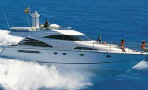 fairline chartering in malta boat