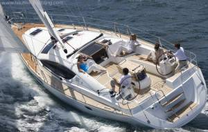 Jeanneau 54 for hire in Malta chartering