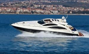Sunseeker chartering in Malta predator 62