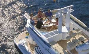 rent a boat in malta hire fairline 58