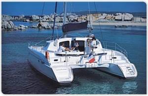 catamaran day hire rental lavezzi 40