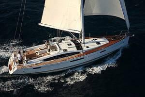 Malta sailing charter Jeanneau 53