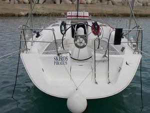 Skiros sailing charter bareboat malta charters