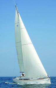 dufour 45 for sailing charters in malta