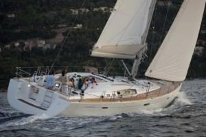 Beneteau 54 sail chartering in malta