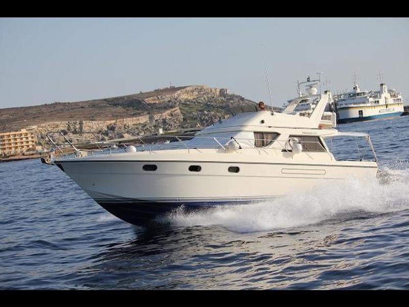 Princess 41.5 feet motor boat