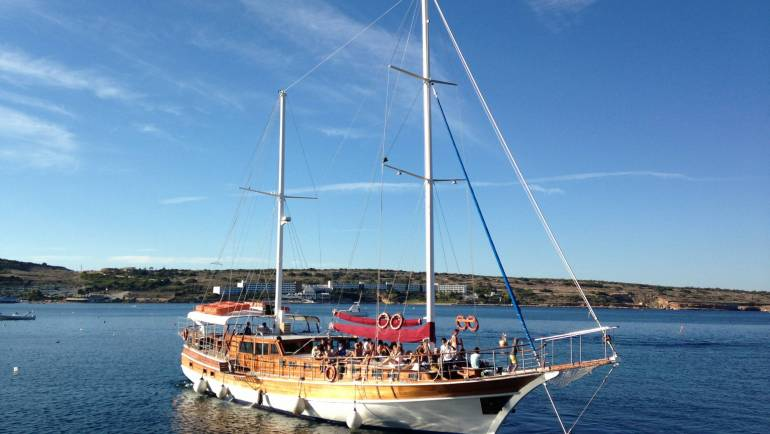 Turkish gullet / Party Boat for 120 persons