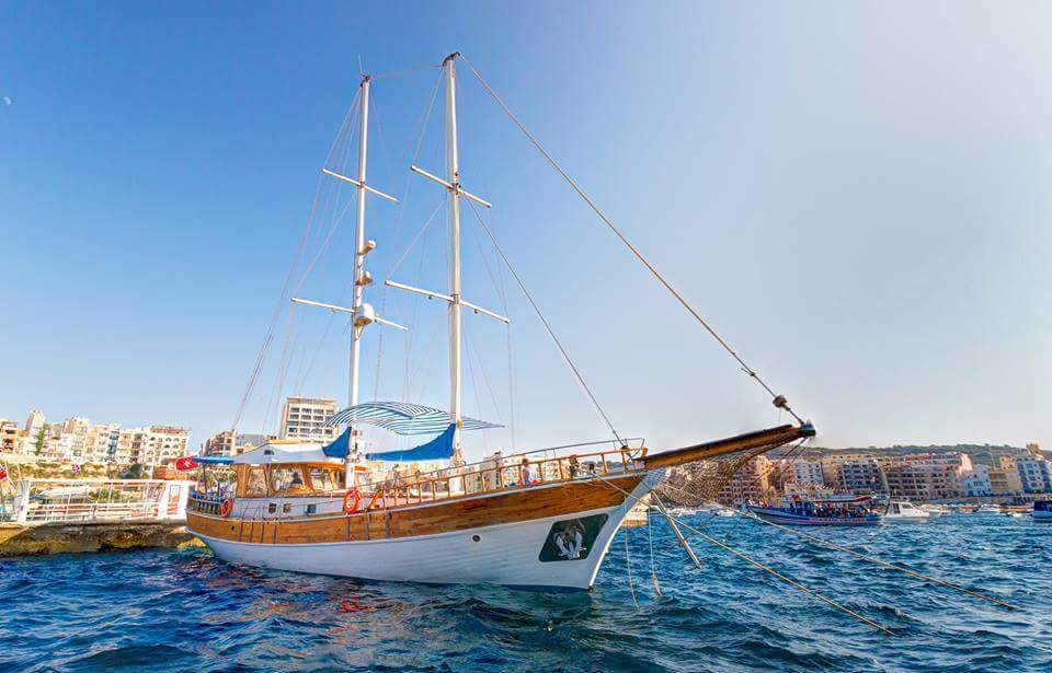 Turkish gullet / Party Boat for 95 persons