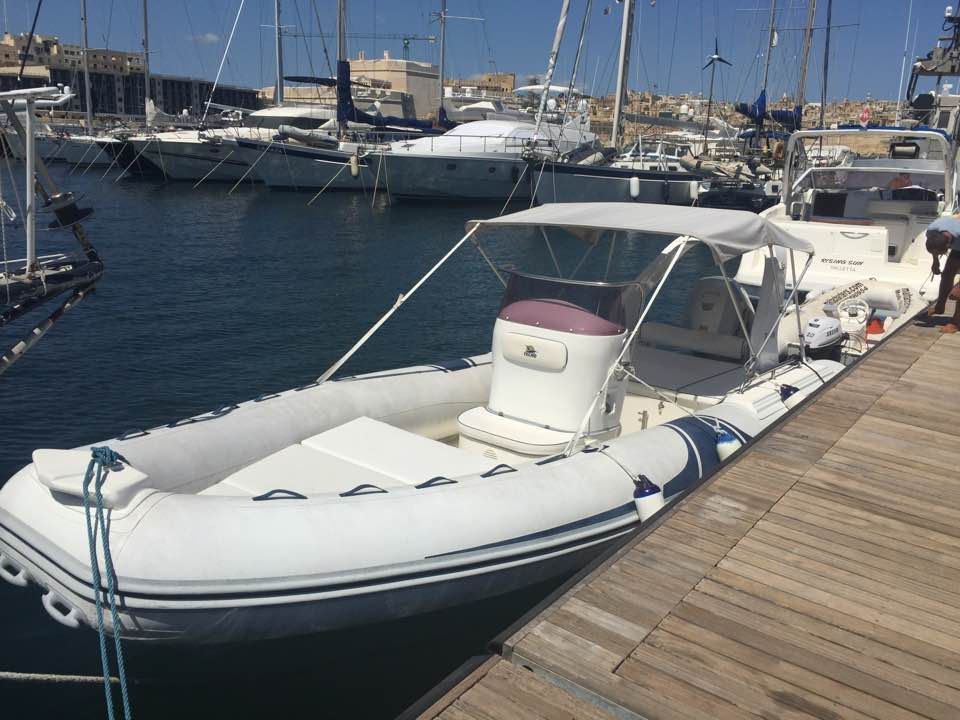 23 feet RIB for Charter – Techno