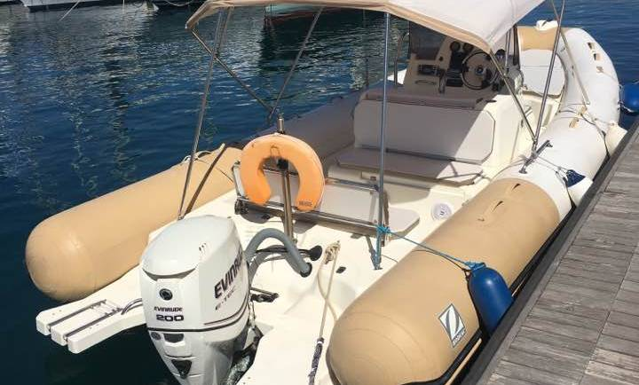 25 feet RIB for Charter – Zodiac