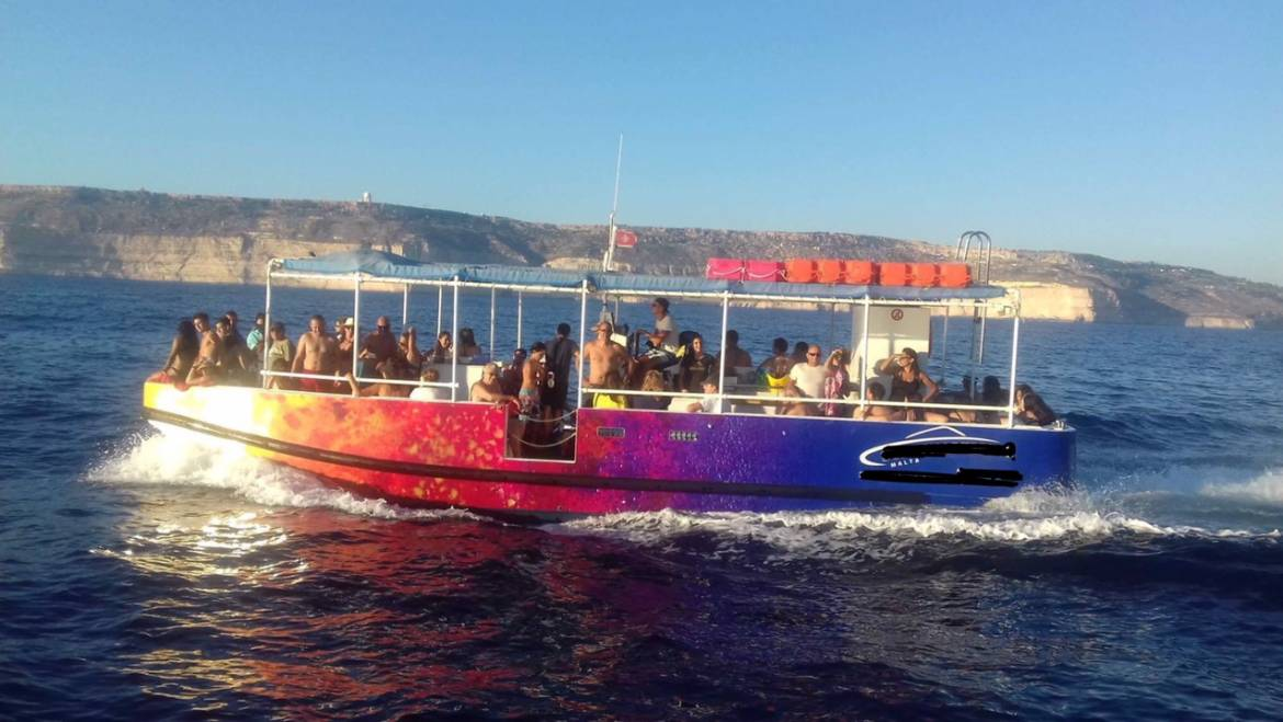 Open Party boat for 63 persons